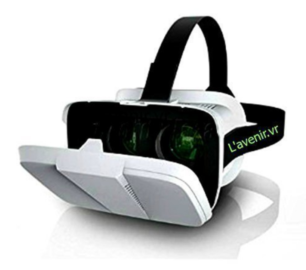 L'avenir.vr. Virtual Reality 3d glasses