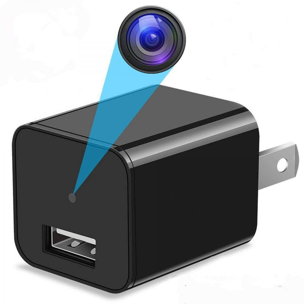 LAVENIR.VR Hidden Camera, Surveillance Camera Home Camera, Spy charger Camera is USB Charger Spy Camera