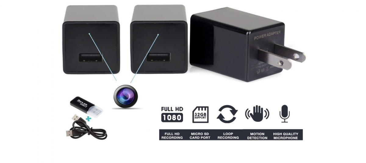 FREE Spy Charger Camera