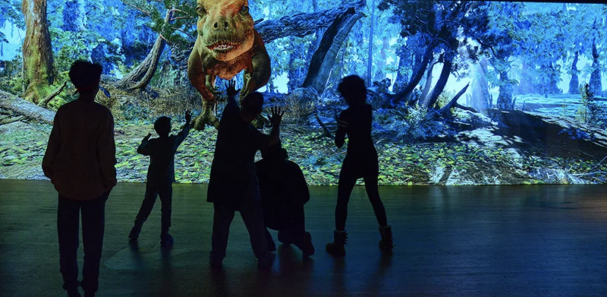 Experience T-Rex in Immersive virtual reality